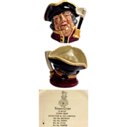 Royal Doulton Character Jug Town Crier Small Size