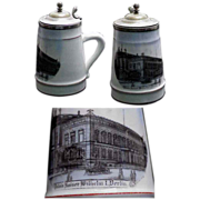 1890's Kaiser Wilhelm I Royal Palace Small Stein