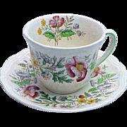 Royal Doulton Stratford Pattern Demitasse Cup & Saucer