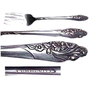 Community Plate Evening Star Pattern Salad/Dessert Fork