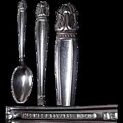 Holmes & Edwards Danish Princess Pattern Tablespoon
