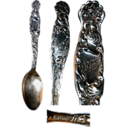 Whiting Heraldic Sterling Spoon