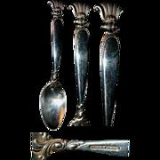 "Heavy Wallace Romance of the Sea 6 & 1/4"" Spoon"