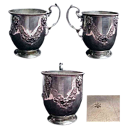 Exceptional Continental Silver Children's Cup/Mug
