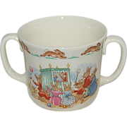 Royal Doulton /  Two Handled Bunnykins Baby / Youth Mug