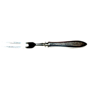"""Patrician Community 1914 Silverplate 8 3/4"""" Carving Fork"""