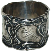 Art Nouveau Sterling Napkin Ring