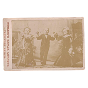 Philions Royal Little People (Midgets) Vaudeville Artists Cabinet Card