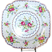 "(4) Royal Albert Petit Point 7 5/8"" Salad / Dessert Plates"