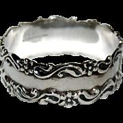 Heavy Sterling Napkin Ring