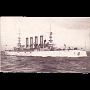 "RPPC Postcard with Photographic Image of ""USS Colorado"""