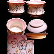 Beautiful Enameled Burmese Glass Vase