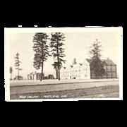 "RPPC ""Reed College in Portland Oregon"" Postcard"