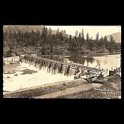 "RPPC ""Savage Rapids Dam Rogue River Oregon"""