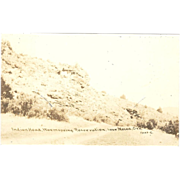 """RPPC """"Indianhead, Warmspring Reservation Near Mecca, Oregon"""""""