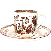 India Tree Copeland Spode Demitasse Cup & Saucer Set