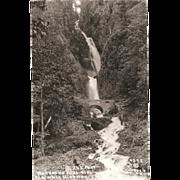 "RPPC ""Wahkeena Falls Ore."" Columbia Highway Oregon"