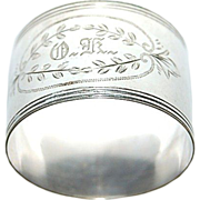 Early 1900's Silverplated Napkin Ring