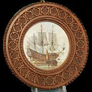 Antique 1900's Carved Antique Wooden Frame