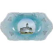 """1920's Wheelock Souvenir Dish of the """" State Capitol Olympia Wash. """""""