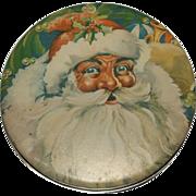 Ho Ho Ho......Merry Christmas!!!!Great Santa Claus Candy / Cookie Tin Box