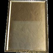 Victorian Brass Shaving Mirror Stand