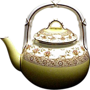 Superb Antique 1892 Royal Worcester Teapot