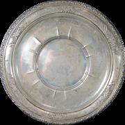 SALE Vintage American Sterling Silver Sandwich Platter by Wallace