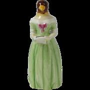 SALE Vintage Royal Worcester Porcelain Candle Snuffer Jenny Lind Diffidence