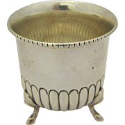 Vintage Sterling Silver Toothpick Holder