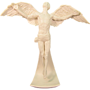 Rare Icarus Winged Man Figure by Laszlo Ispanky Goebel No. 202 of 350