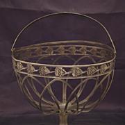 SALE Antique Silver Basket, Berlin, Germany Late XVIII c., Early XIX c.