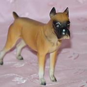 Ceramic Napco Boxer Dog Figurine