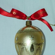 Waterford Glass Blown Ornament