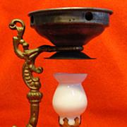 Antique Vapo Cresolene Medical Vaporizer Miniature Lamp