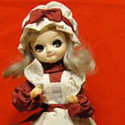 Vintage 1980 Bradley Wonderful World of Dolls Agatha
