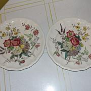 "Spode ""Gainsborough"" (Marlborough) Round Salad Plate"