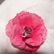 Rose Colored Rose Pin - Free Shipping