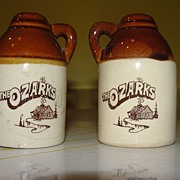 Souvenir of the Ozarks Salt and Pepper Shakers