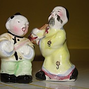 Asian Drummers Salt and Pepper Shakers - b57