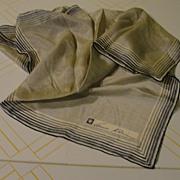 Anne Klein All Silk Scarf - Free shipping
