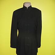 Asian Inspired Black Tunic Dress size 8