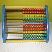 Playschool Wood Abacus - g