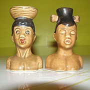 Go Native Salt and Pepper Shakers