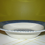 Royal china currier & Ives ''Maple Sugaring'' 9'' vegetable Bowl