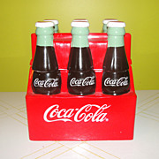 SOLD Enesco Take Home a  6-pak of Coke Cookie jar