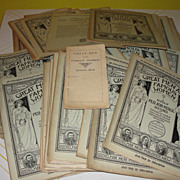 SALE ''Great Men and famous women A series of Pen and Pencil Sketches'' with Question Book