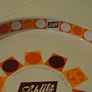 Schlitz 1968 ''The beer that made Milwaukee famous'' Beer Tray - b36