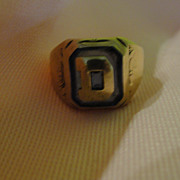 SALE D is for... 10K Gold Initial Ring - Free Shipping