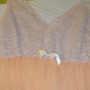 Orange Sherbert Nightgown - b45